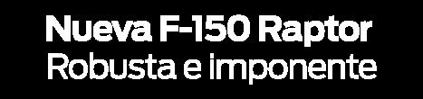 FORD RAPTOR F-150
