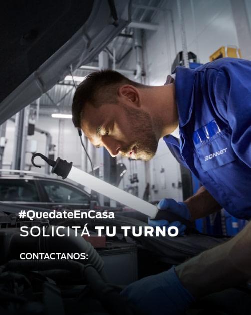 TURNOS POSVENTA FORD DONNET