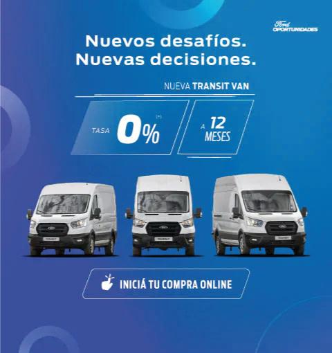oportunidades transit van 0%