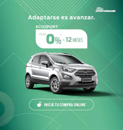 oportunidades ecosport 0% a 12 meses