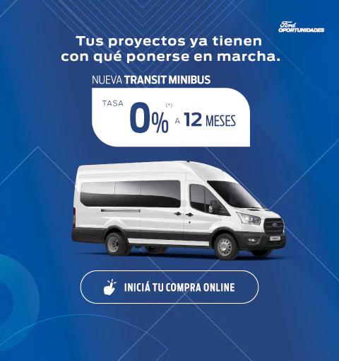 oportunidades transit minibus 0%