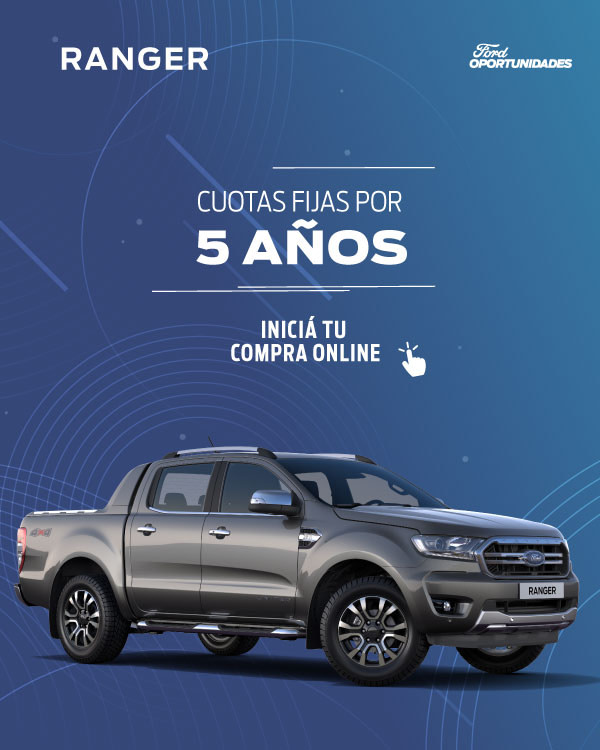 oportunidad Ford Ranger pyme