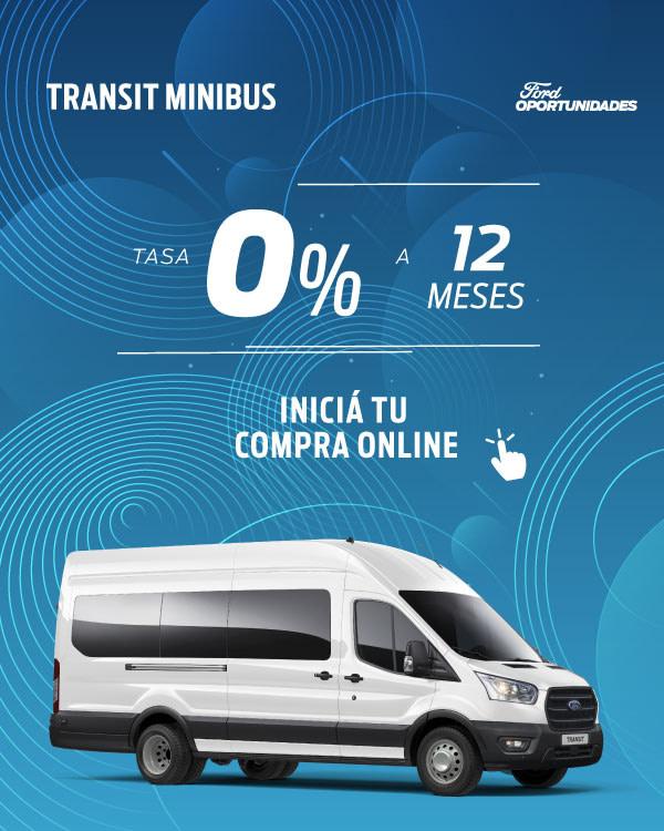 oportunidades transit van tasa 0%